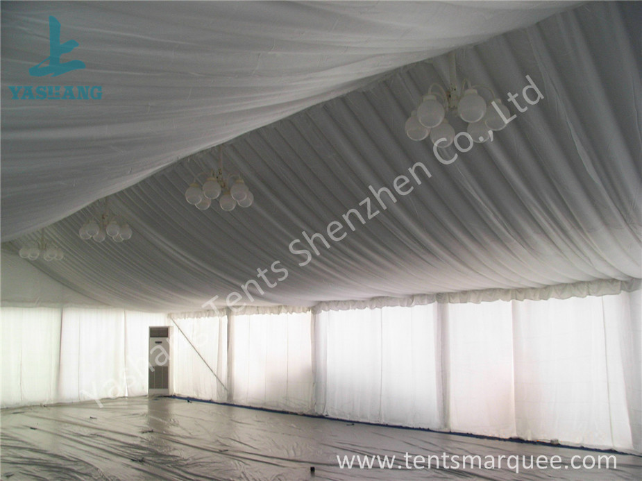 Air Conditioning Outdoor Event Tent , Beautiful Outside Event Tents Luxury Linings